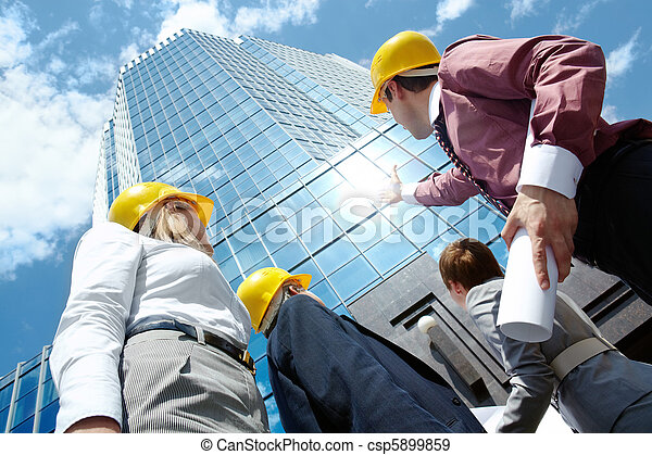 Looking at building - csp5899859