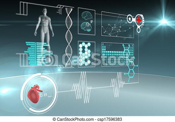 Medical interface - csp17596383