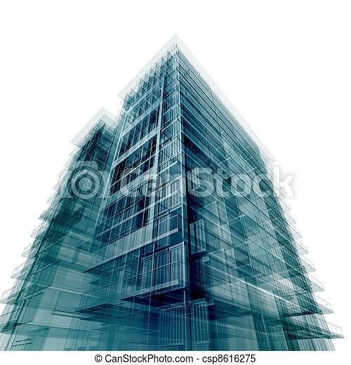 Modern office building - csp8616275