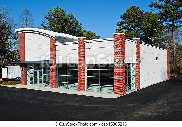 New Commercial Building - csp15305216