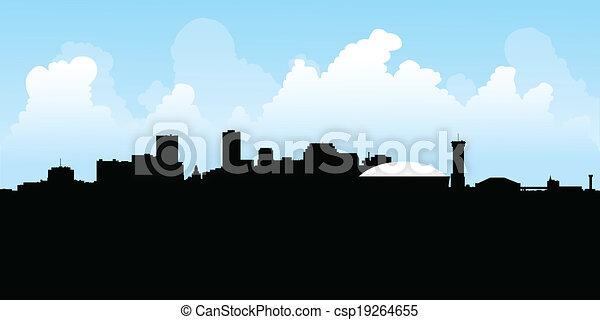 New Orleans Skyline - csp19264655