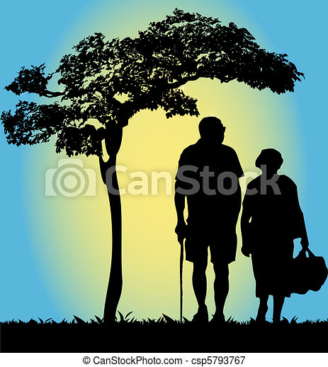 Old couple - csp5793767