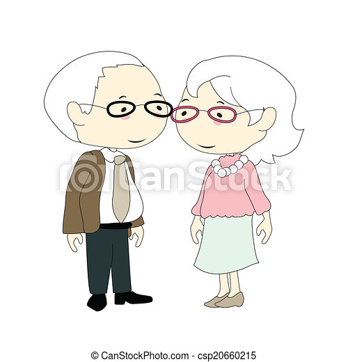 old couple - csp20660215