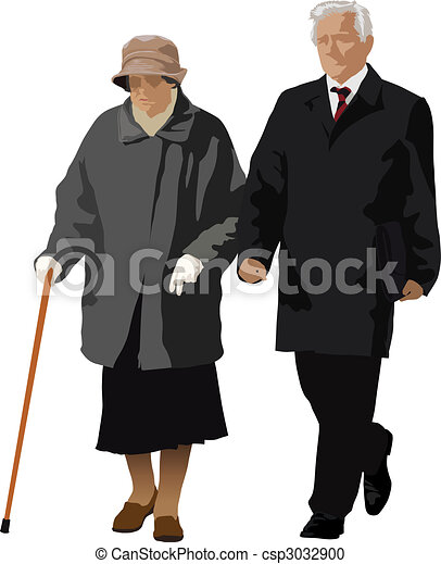 Old couple - csp3032900