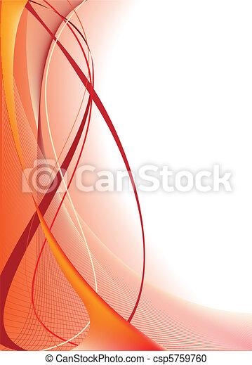 Orange Abstract Background - csp5759760