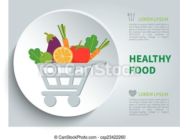organic food - csp23422260