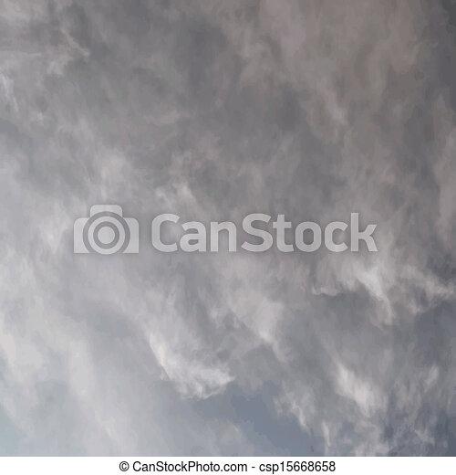 Overcast sky - csp15668658