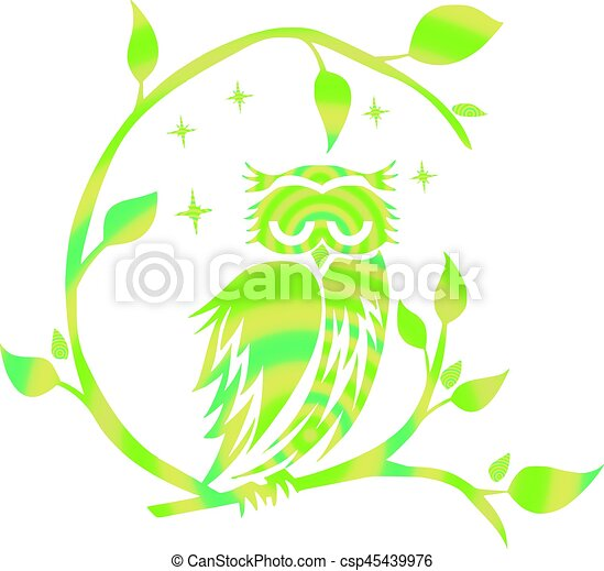 Owl, Night - csp45439976