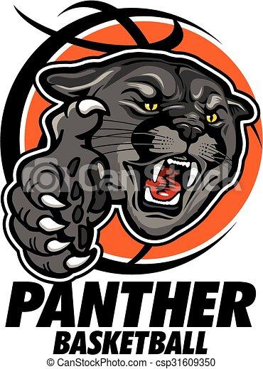 panther basketball - csp31609350