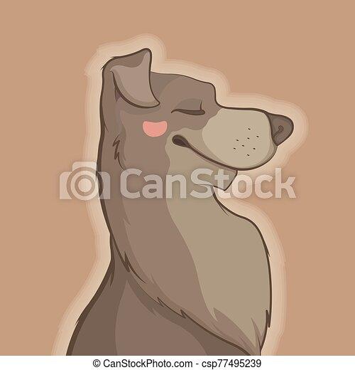 Pretty Dog - csp77495239