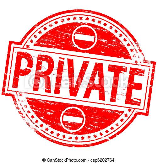 Private Stamp - csp6202764