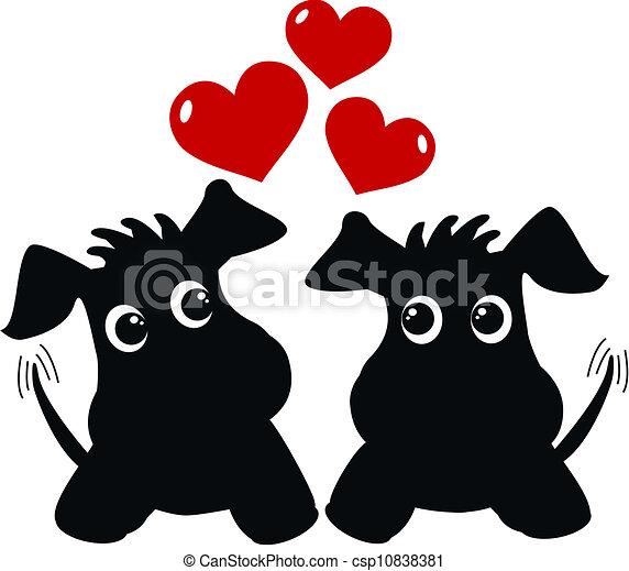 puppy love - csp10838381
