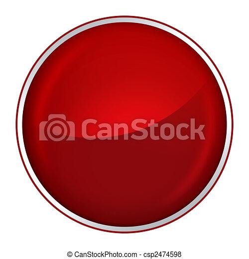 red button - csp2474598