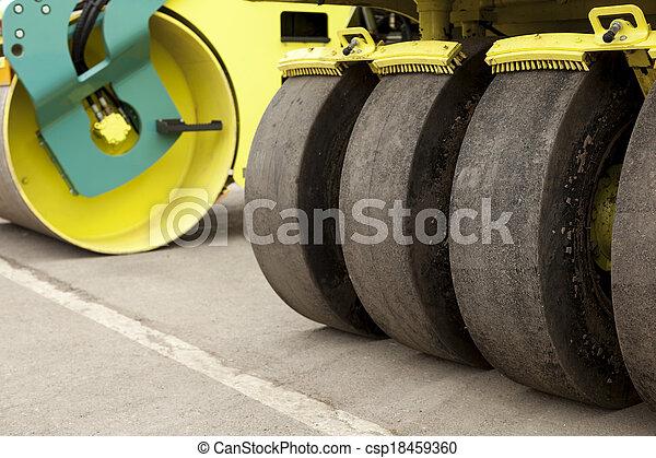 Road Construction - csp18459360