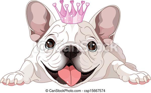 Royalty bulldog - csp15667574