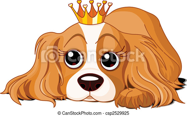Royalty dog - csp2529925