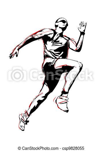 runner - csp9828055
