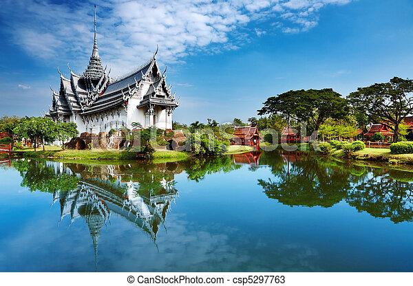 Sanphet Prasat Palace, Thailand - csp5297763