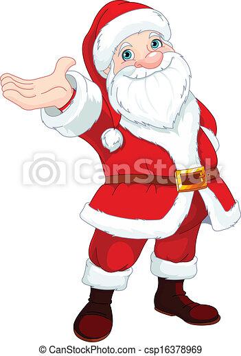 Santa Clause Presents - csp16378969