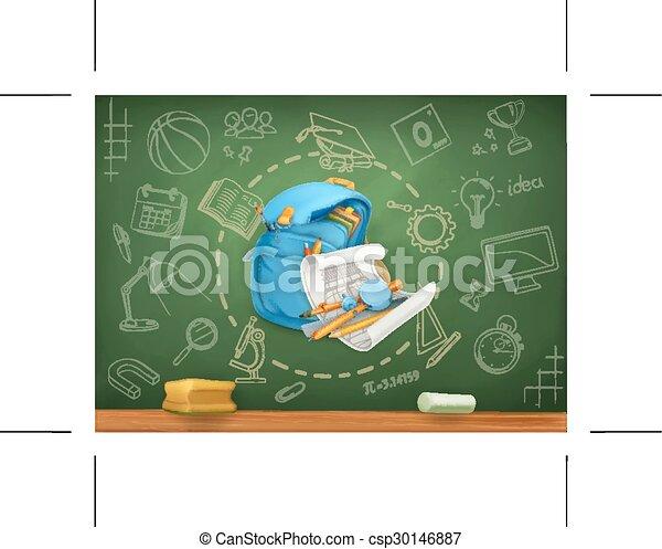 School background - csp30146887