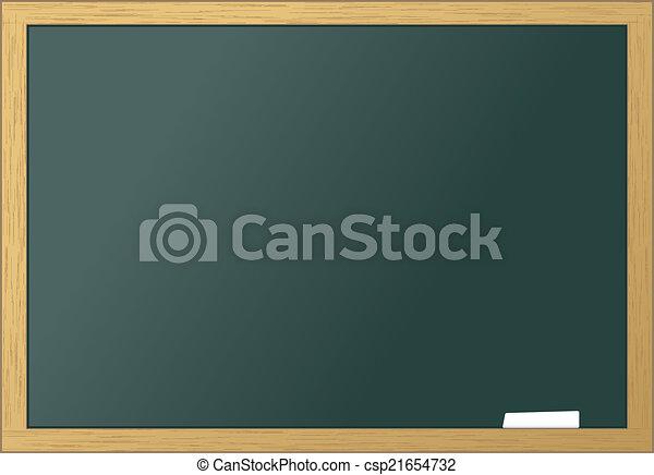 School blackboard blank - csp21654732