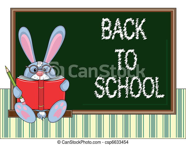 School blackboard - csp6633454