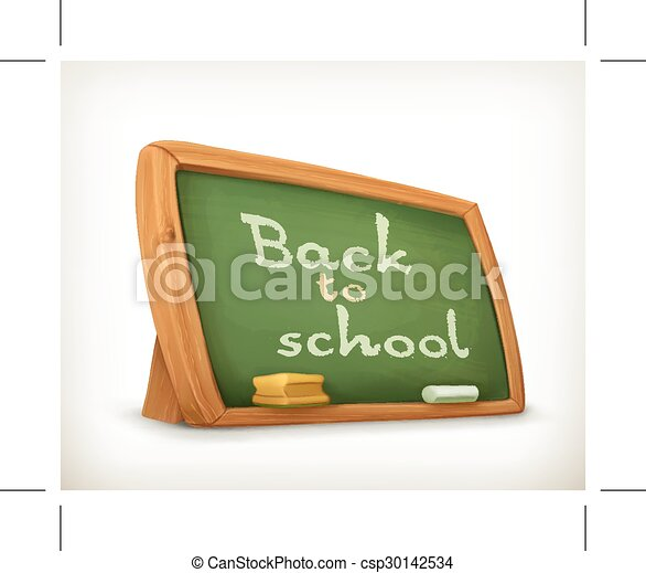 School board icon - csp30142534