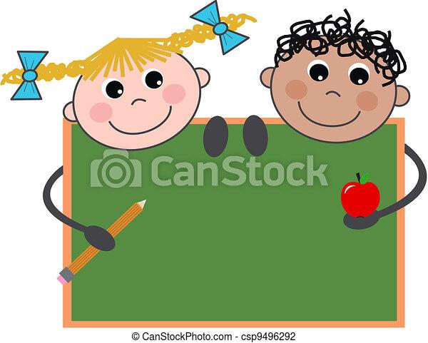 school children - csp9496292