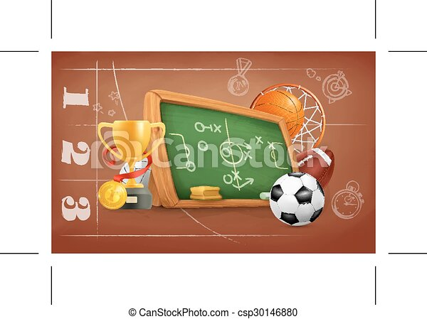 School, game and strategy - csp30146880