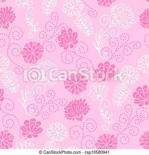 Seamless floral pattern - csp10580941