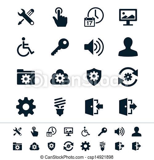Setting icons - csp14921898