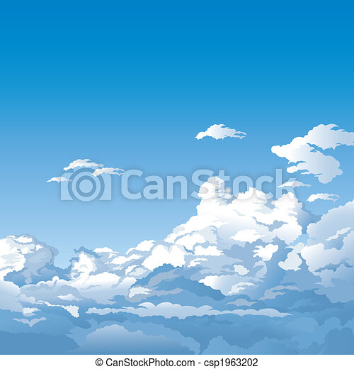 Sky With Clouds - csp1963202