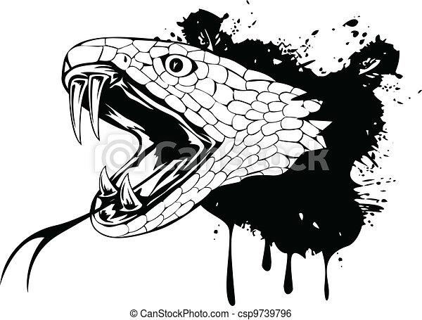 snake head - csp9739796