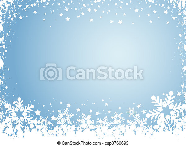 snowflake background - csp0760693