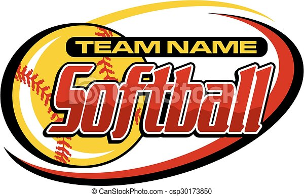 softball design - csp30173850