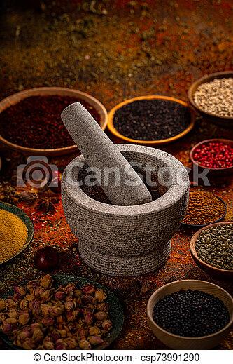 Spice still life - csp73991290
