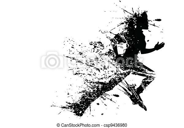 Splashy Runner - csp9436980
