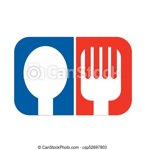 Spoon Fork Icon - csp52697903