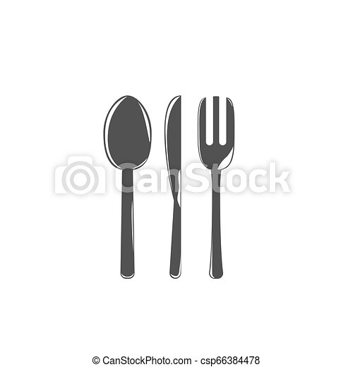 Spoon knife fork - csp66384478