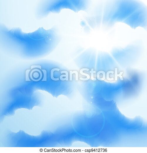 Summer sky - csp9412736