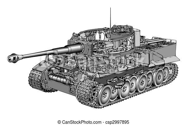 Tank Tiger - csp2997895