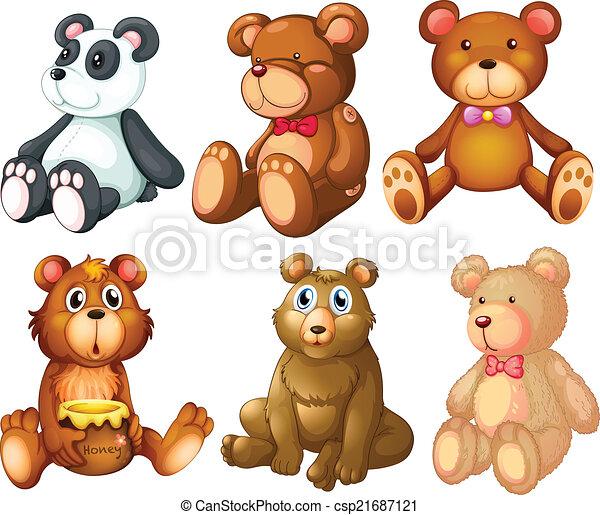 Teddy bear - csp21687121