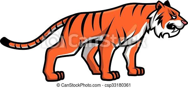 Tiger - csp33180361