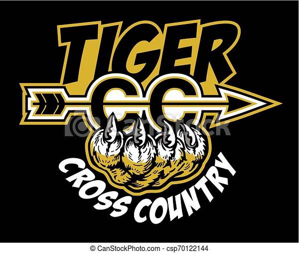 tiger cross country - csp70122144