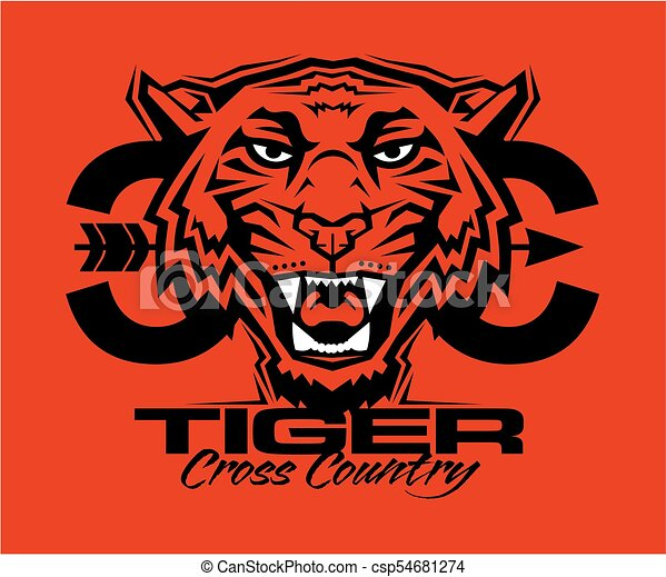 tiger cross country - csp54681274