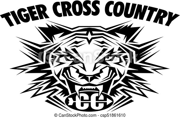 tiger cross country - csp51861610