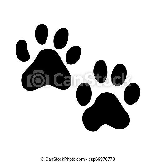 Tiger Footprint - csp69370773