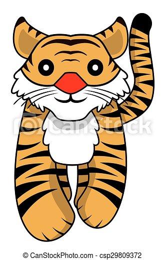 tiger - csp29809372