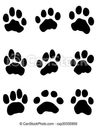 tiger paw - csp30335959
