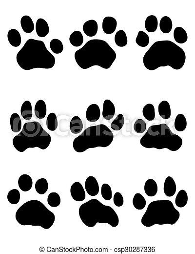 tiger paw - csp30287336